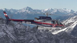 Airbus Helicopters H125 für Tirol.