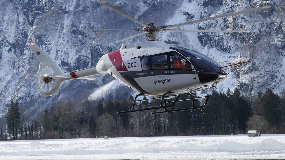 Der SH09-Prototyp P3 wurde gründlich überarbeitet und fliegt nun seit Januar 2021 wieder.