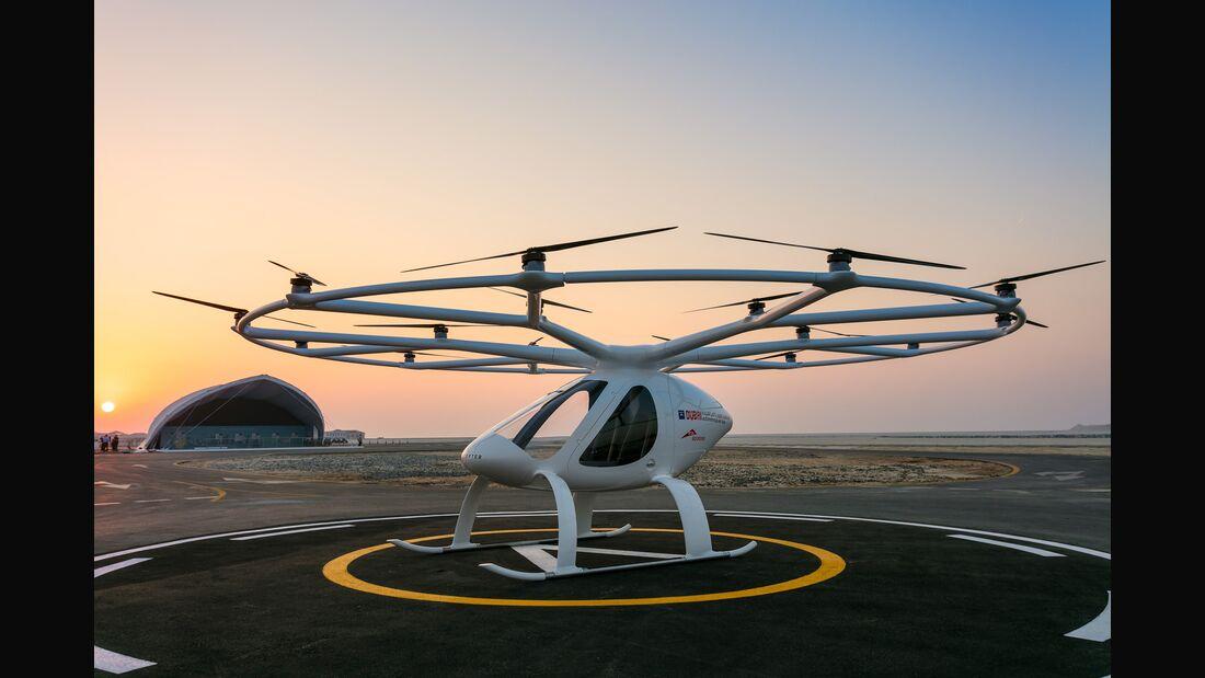 Volocopter in Stuttgart: Vision Smart City - Mobilität der Zukunft heute erleben